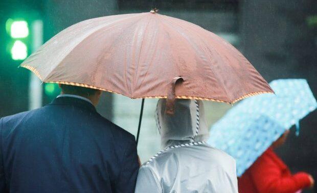 Sábado tem previsão de chuva volumosa no Litoral