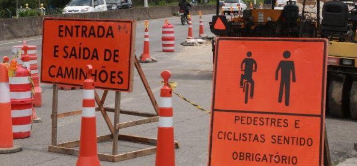 Subprefeitura realiza obra na Avenida Marquês de Olinda nesta quinta-feira