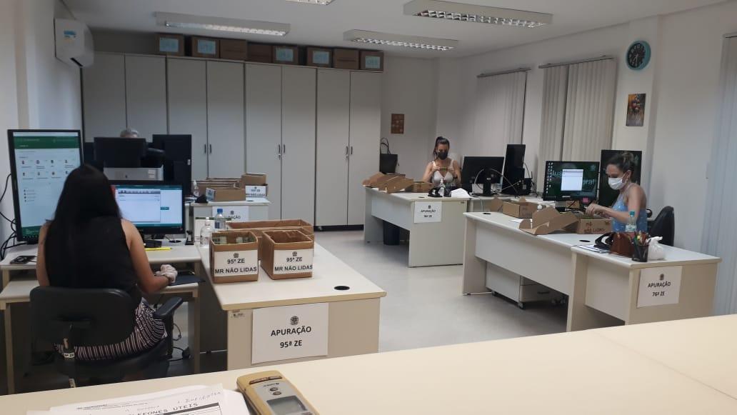 Divulgação dos votos já apurados em Joinville e região está atrasada devido a problema no TSE