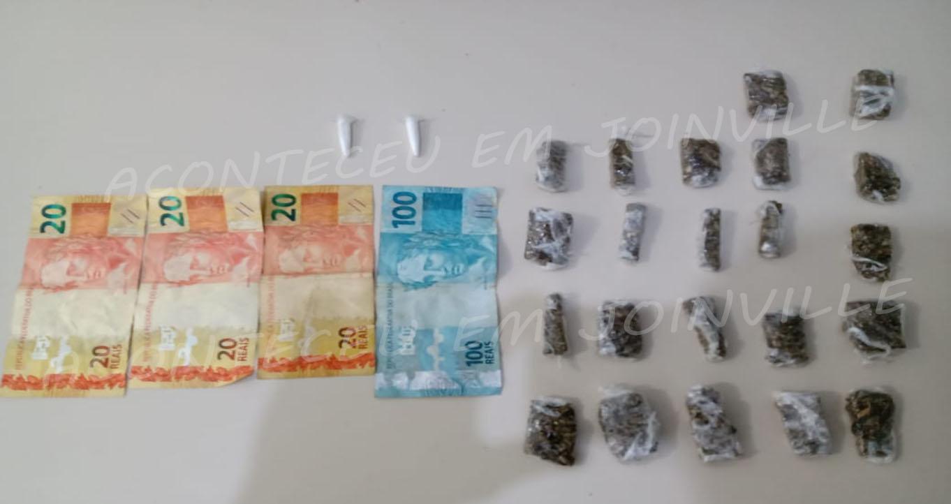Três homens são presos por tráfico de drogas na Zona Sul