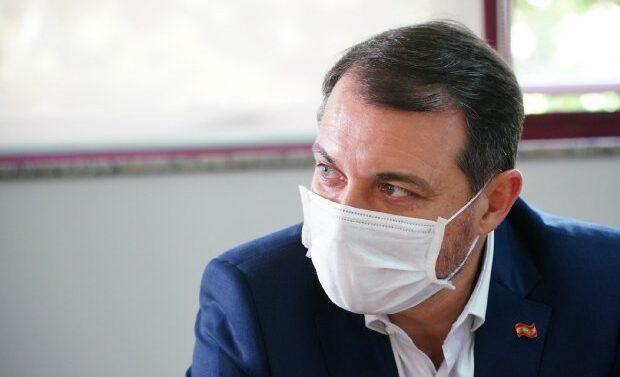 Governador está isolado por suspeita de reinfecção por Covid-19