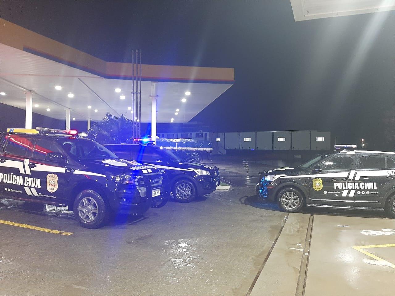 Polícia Civil realiza operação em Araquari