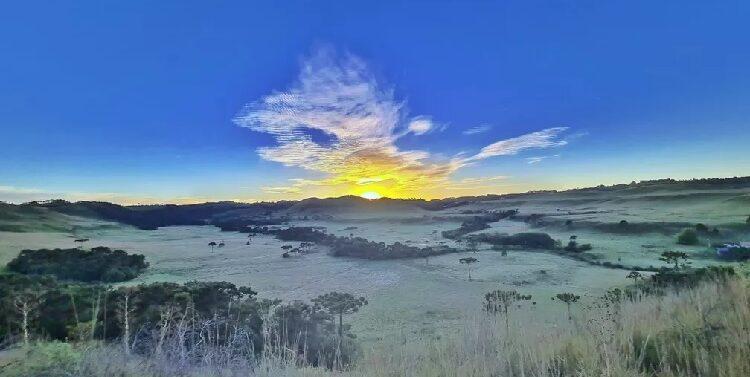 Início do Inverno: nebulosidade variável e temperatura baixa nesta segunda-feira