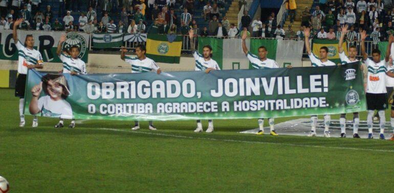 Coritiba mandará partida pela Copa do Brasil na Arena Joinville