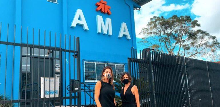 Familiares da AMA ganham mais conforto através de ação organizada pelo Garten Shopping