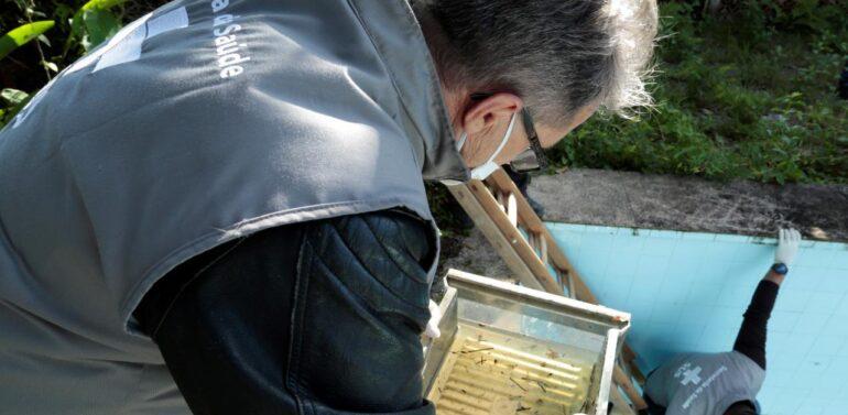 Bairro Itaum recebe ação coordenada de combate à dengue