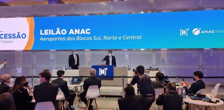 Companhia de Participações em Concessões ganha concessão do aeroporto de Joinville