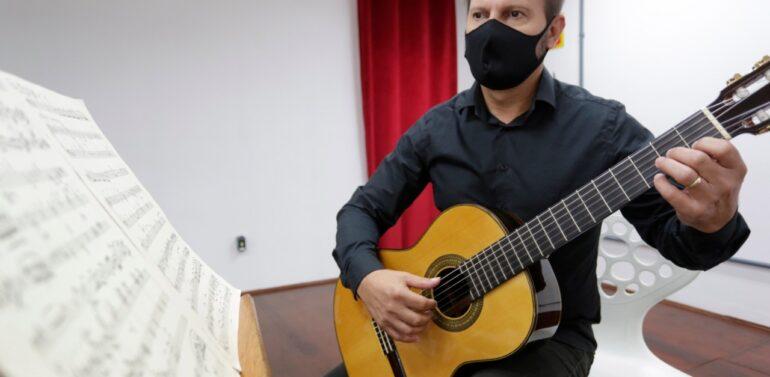 Casa da Cultura está com inscrições gratuitas para aulas de violão