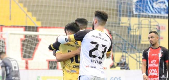 Jec/ Futsal perde em casa pela LNF