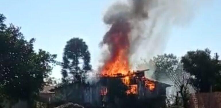 Autor do assassinato de idoso e incêndio em Três Barras quebra o silêncio