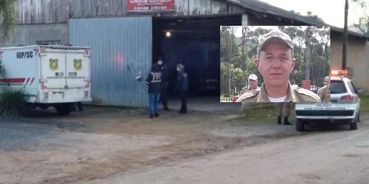 Policial militar é morto a tiros dentro de bar em São Bento do Sul