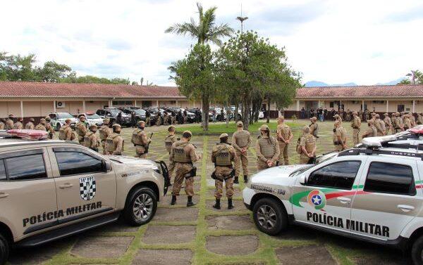 Polícia Militar realiza operação Saturação em Guaramirim