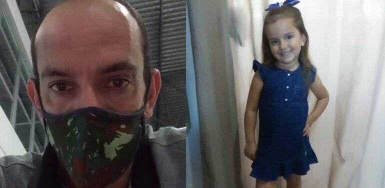 Pai que confessou ter matado filha de 5 anos é denunciado pelo MPSC