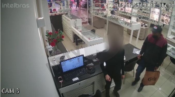 Joalheria em shopping da Zona Sul é assaltada
