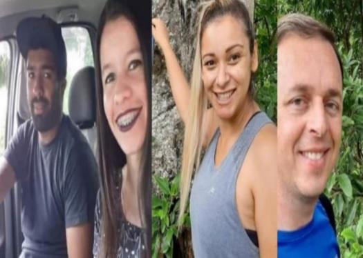 Identificadas as quatro vítimas do acidente na BR-101