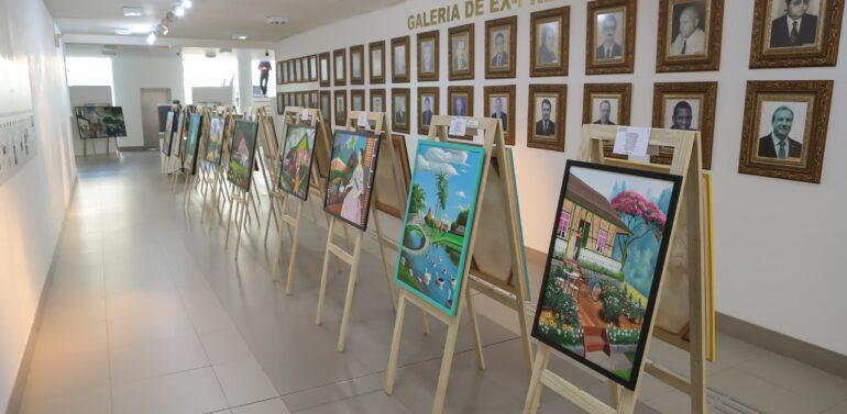Projeto Arte Eficiente está em exposição na Câmara
