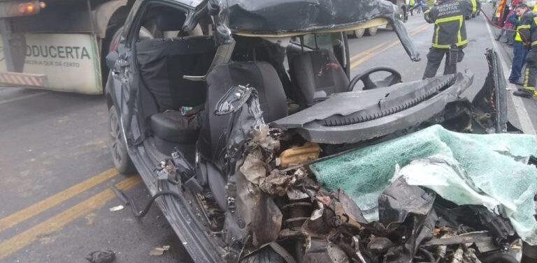 Identificadas as quatro vítimas do acidente na BR-280 em Araquari