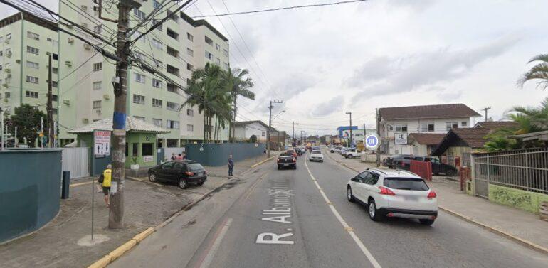 Trecho da rua Albano Schmidt terá interdição total no sábado