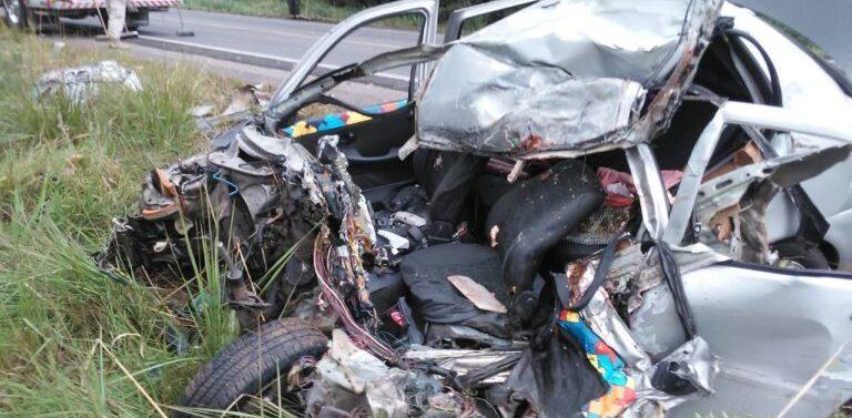 Motorista morre em grave acidente na BR-470