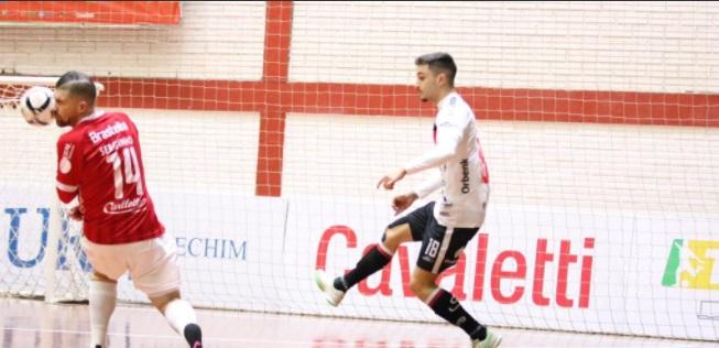 Jec/Futsal vence o Atlântico em Erechim/RS