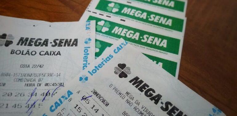 Confira o resultado do sorteio da Mega-Sena