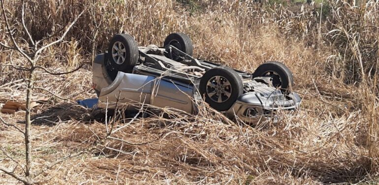 Deputado Coronel Mocellin sofre um acidente de trânsito