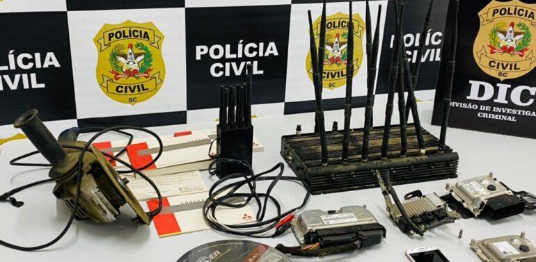 Polícia Civil de Joinville estoura desmanche em Piçarras
