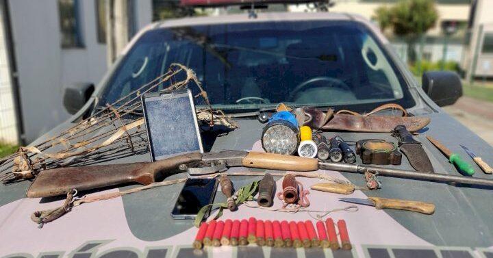 Polícia Ambiental de Joinville prende caçador após troca de tiros