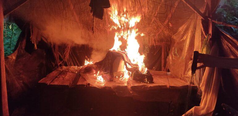 Quatro homens são presos em flagrante por caça ilegal no Quiriri