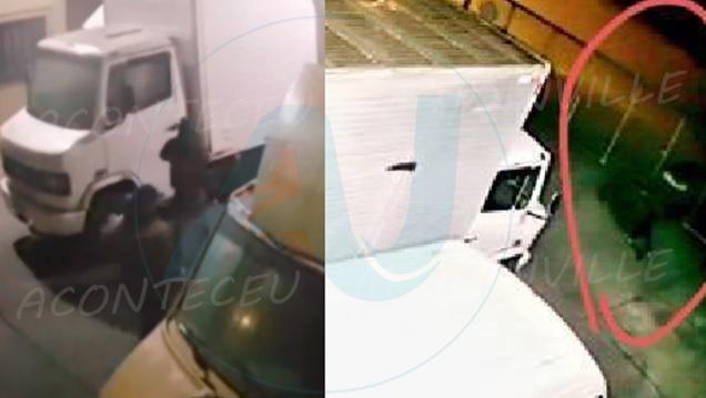 Vídeo : Caminhão carregado com equipamentos para gastronomia é furtado