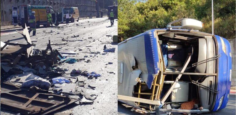 Hospital São José recebe vítimas de acidente na BR-376