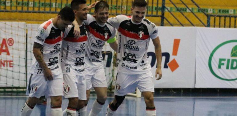 Jec/Futsal goleia Assoeva pela LNF