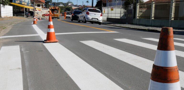 Prefeitura tem novo contrato para pintura e sinalização de ruas