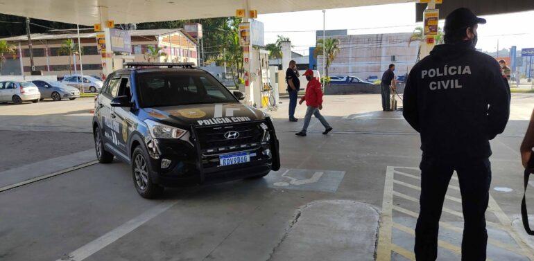 Força-tarefa faz operação contra fraude de combustível em Joinville