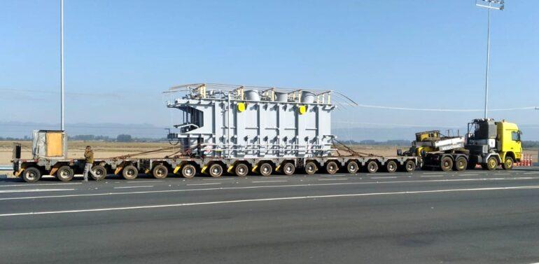 Transporte de transformador causará lentidão na BR 101