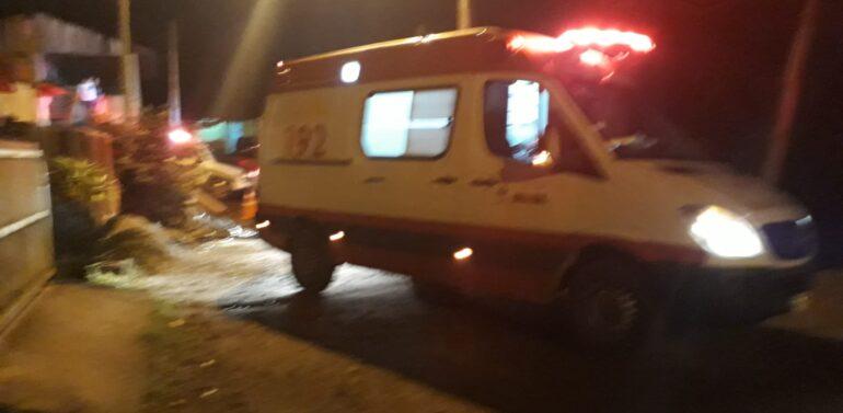 Mulher vítima de acidente no Morro do Amaral tem quadro de saúde estável