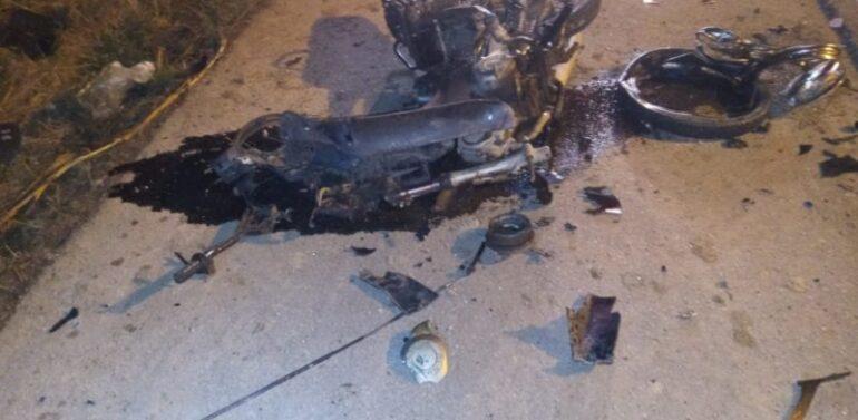 Motociclista na contramão morre ao colidir frontalmente contra carro na SC-412