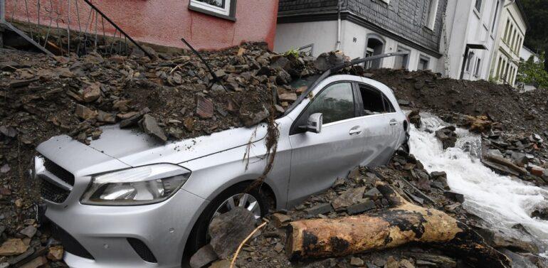 Inundações na Alemanha deixam mais de 120 mortos e cerca de 1,3 mil desaparecidos