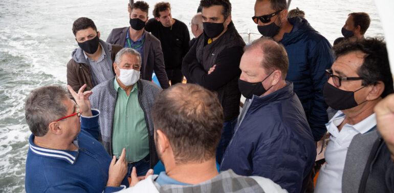Prefeito de Barra do Sul solicita projetos para melhorar a navegação e praias