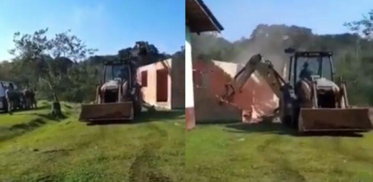 Justiça determina demolição de construções irregulares no Morro do Amaral
