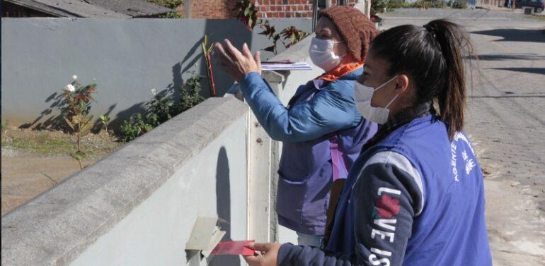 Mutirão da dengue vistoria 5 mil imóveis no Itinga em Araquari