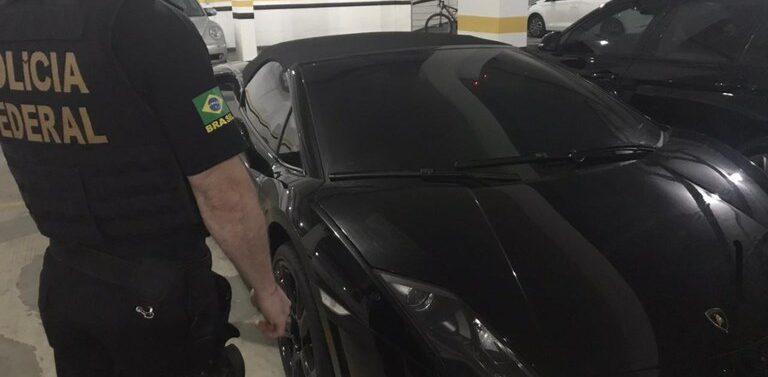 Operação Gallardo: Polícia Federal apreende Lamborghini no Litoral Norte