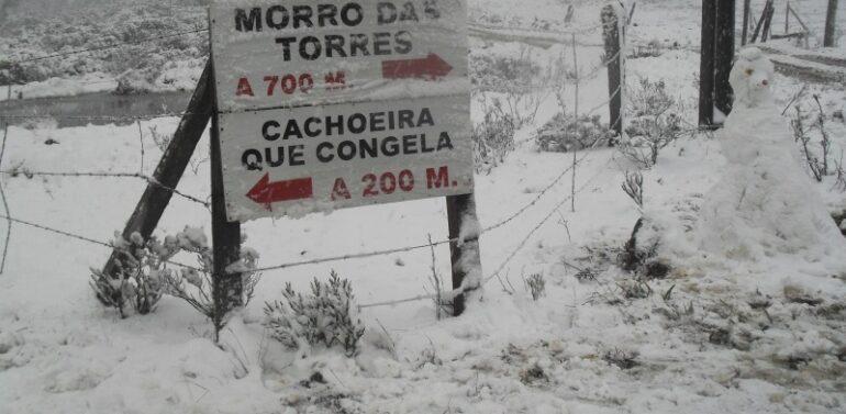Urupema registra menor temperatura no Brasil neste ano