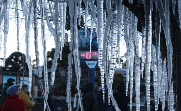 Dia mais frio do ano: Estado registra -8,9ºC e temperatura negativa em 69 cidades
