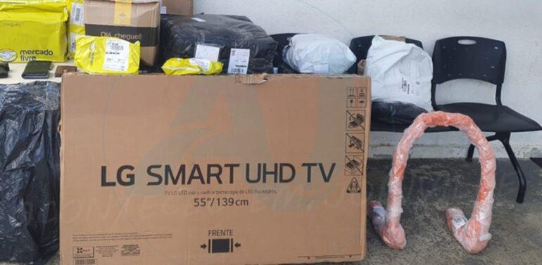 Veículo com produtos do Mercado Livre é roubado em SFS e recuperado em Joinville