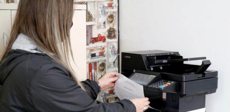 Escolas Municipais de Joinville começam a receber impressoras