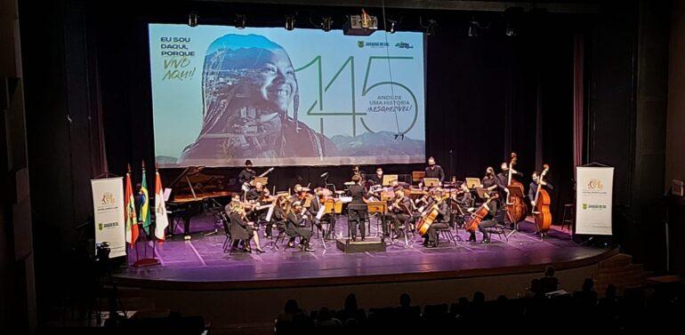 Cerimonial Especial de Aniversário marca a programação dos 145 anos