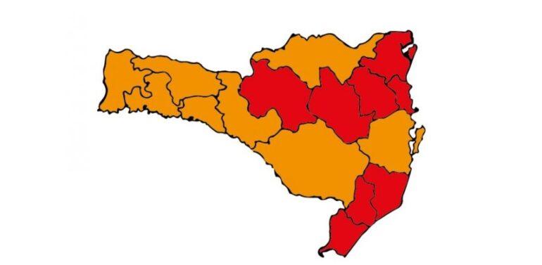 Covid-19 : Região de Joinville permanece em estado gravíssimo