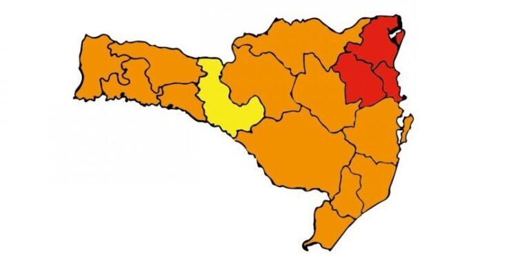Matriz de Risco Covid-19 aponta região de Joinville em classificação gravíssima