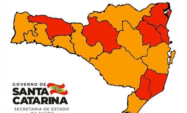 Região de Joinville permanece em estado gravíssimo para Covid-19